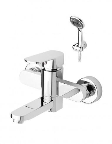 Grifo bañera con ducha modelo DETROIT de Aquassent.