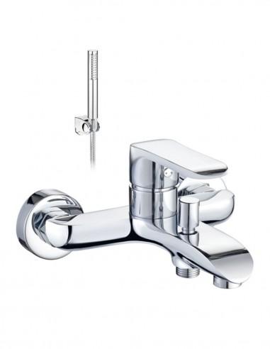 Grifo baño ducha Misuri cromo de Aquassent