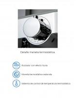 Grifo termostático ducha de Aquassent modelo Artis - detalles