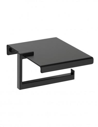 Portarrollo baño negro modelo PLEXO de PyP