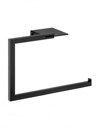 Toallero bidet baño modelo PLEXO negro de PyP