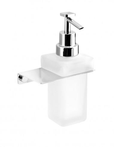 Dosificador de jabón pared modelo PLEXO cromo de PyP