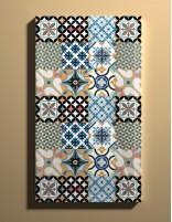 Plato de ducha extraplano rectangular mosaico color de Duplach