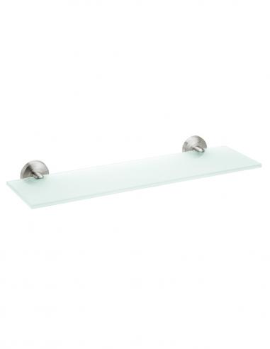 Repisa de acero inoxidable para baño con cristal modelo TALIX de PyP