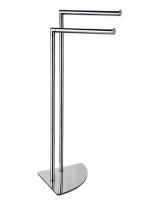 Toallero de pie modelo AC-240 con doble barra de PyP
