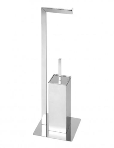 Toallero baño de pie modelo AC-349 con escobillero de PyP