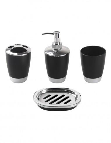 Conjunto de baño sobremesa modelo CALIA de PyP - negro