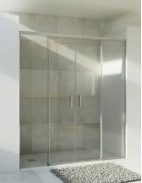 Mampara ducha corredera sin perfil inferior modelo 9004