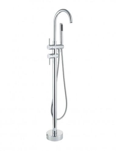 Grifo bañera de suelo de Martí - cromo