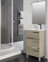 Mueble de baño moderno pequeño modelo AURORA mini de Socimobel