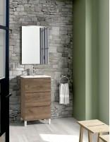 Mueble fondo reducido modelo GEO con lavabo de Socimobel