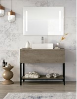 Mueble baño diseño moderno modelo LUARCA de Socimobel