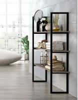 Mueble baño diseño moderno auxiliar LUARCA de Socimobel