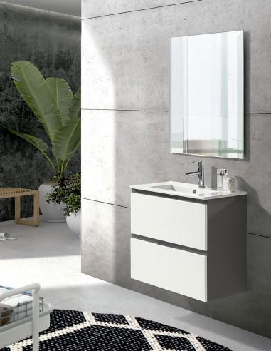 Mueble de baño con cajones modelo SUN con fondo reducido de Socimobel