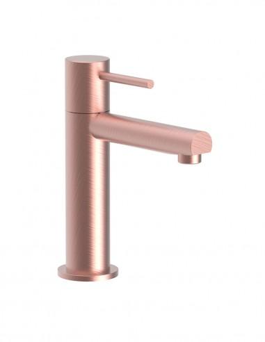 Grifo lavabo oro-rosa modelo LAREDO de Martí