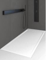 Plato de ducha carga mineral modelo QUORE