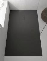 Plato de ducha plano modelo FUSION de ProBath en negro