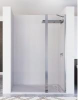 Mampara ducha fijo abatible modelo KARIMA de Seviban