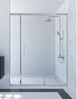 Mampara ducha 2 fijos 1 corredera TRIVOR de Seviban