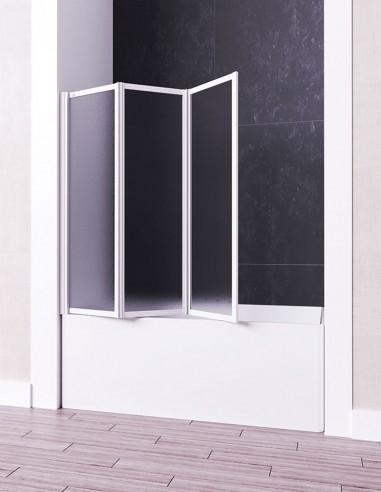 Mampara 3 hojas plegable para bañera modelo ARES de Seviban