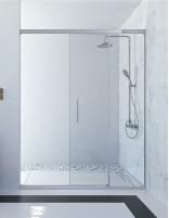 Mampara de ducha corredera frontal hueco abierto modelo Batura de Seviban