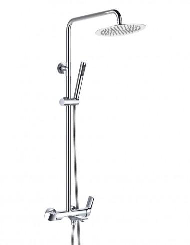 Columna de ducha y bañera modelo TEBAS de Aquassent