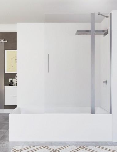 Mampara 1 hoja abatible para bañera de Seviban