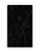 Plato de ducha mármol negro modelo MARQUINA de OhMy Shower