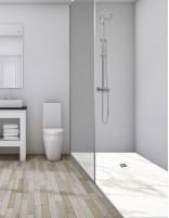 Plato ducha mármol blanco modelo CALACATTA de Oh My Shower