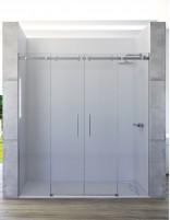 Mampara ducha 2 fijos 2 correderas modelo PIRA de Seviban