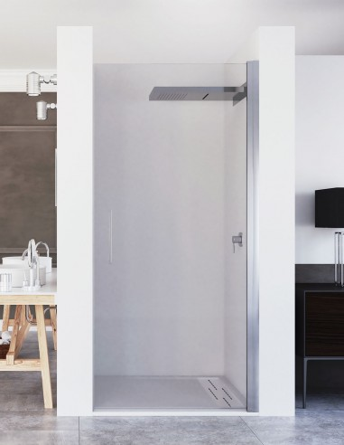 Mampara puerta abatible modelo ARIBA de Seviban