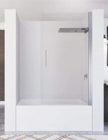 Mampara bañera abatible - 1 hoja modelo ZULEMA de Seviban