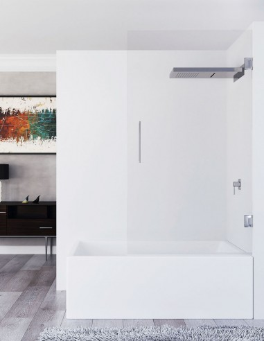 Mampara bañera hoja abatible modelo MINTA de Seviban