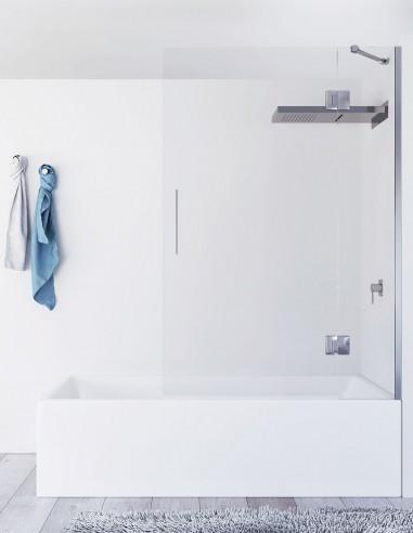 Mampara bañera fijo abatible modelo AURE de Seviban