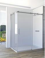 Mampara de ducha angular corredera - 2 fijos y 2 puertas VELA de Seviban