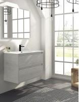 Mueble de baño nasu de 2 cajones suspendido de Duplach