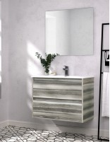 Mueble de baño con lavabo incluido NASU de Duplach