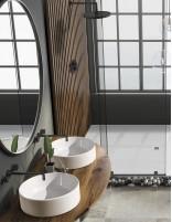 Lavabo encimera redondo modelo CIRCUS de Oh My Shower