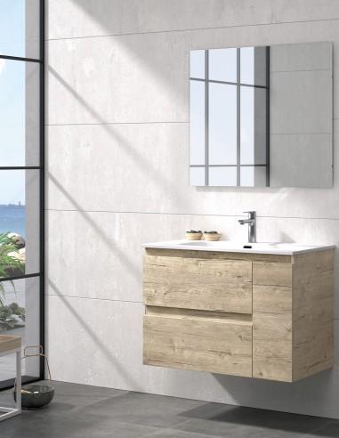 Mueble de baño con 2 cajones y 1 puerta modelo KULA de Duplach
