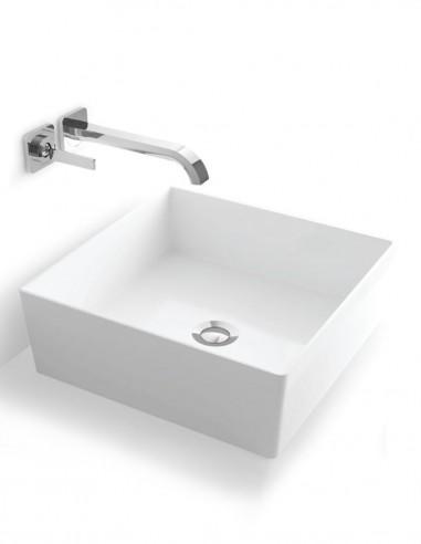 Lavabo cuadrado - sobre encimera modelo CYRO de Oh My Shower