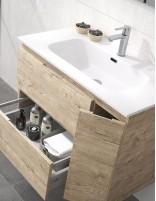 Mueble de baño KULA con una puerta y 2 cajones de Duplach