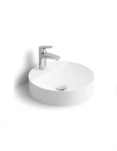 Lavabo redondo - sobre encimera modelo ZERO de Oh My Shower