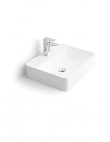 Lavabo rectangular - sobre encimera modelo Dante de Oh My Shower