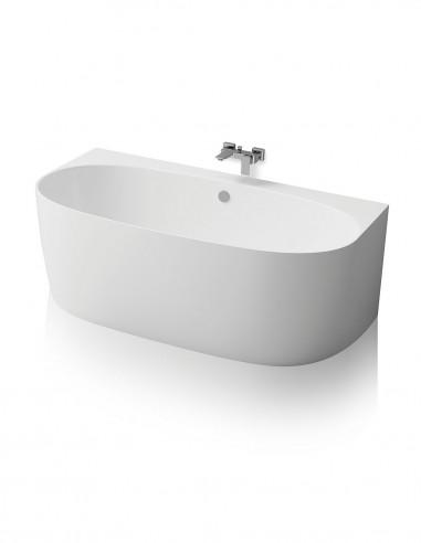 Bañera vista - a pared modelo BECCA de Oh My Shower