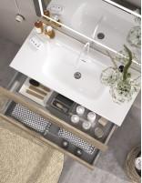 Mueble de baño colgante con lavabo incluido de Duplach