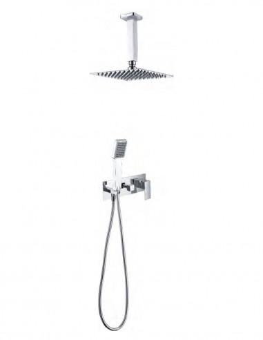 Kit de ducha monomando empotrado modelo FINLANDIA de IMEX