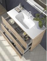 Mueble de baño con 3 cajones modelo fuji de Duplach