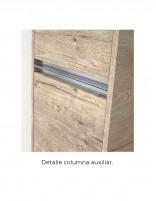 Mueble de baño auxiliar modelo vesubio de duplach