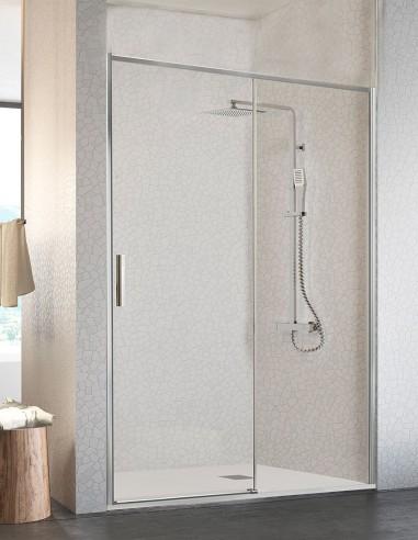 Mampara ducha fijo y corredera modelo MASELA de Kassandra