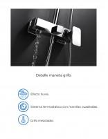 Grifo columna bañera - ducha datos